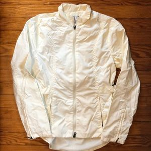 Nike [techlab] cream, jacket, small 4-6